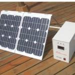 Sistem solar fotovoltaic portabil 100 W