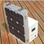 Sistem solar fotovoltaic portabil 300 W