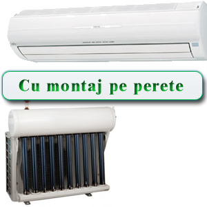 Aer conditionat - montaj pe perete