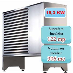 Pompa de caldura 15,3 KW