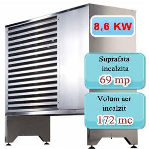 Pompa de caldura 8,6 KW